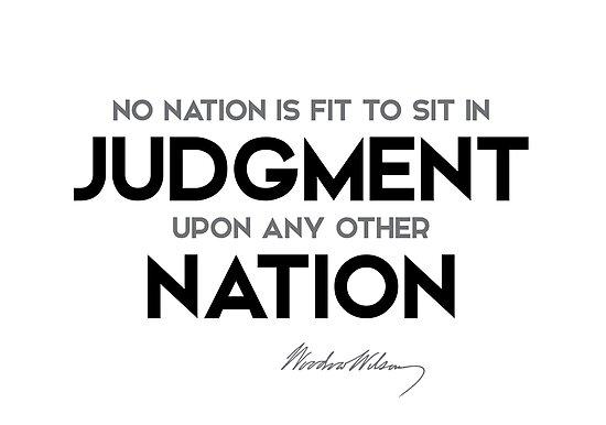 judgment nation - woodrow wilson by razvandrc