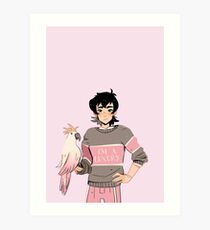 Keith is a Luxury Art Print
