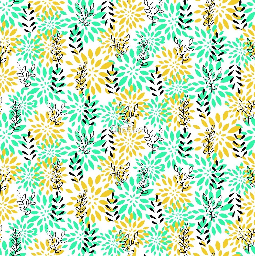 Floral summer pattern by Olizabet