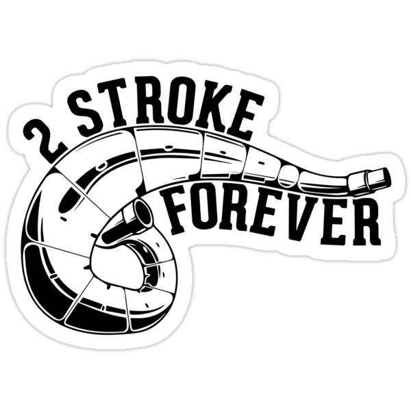 Stroke! Sticker