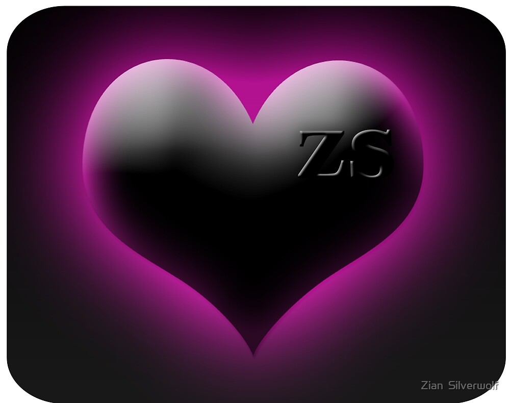 zs heart in pink by Zian  Silverwolf