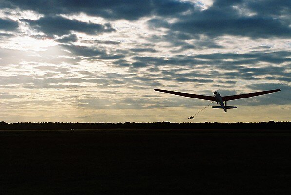Taking to the Sky on a Single Shot Glider by APhotography