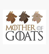 Mother of GOATS Photographic Print