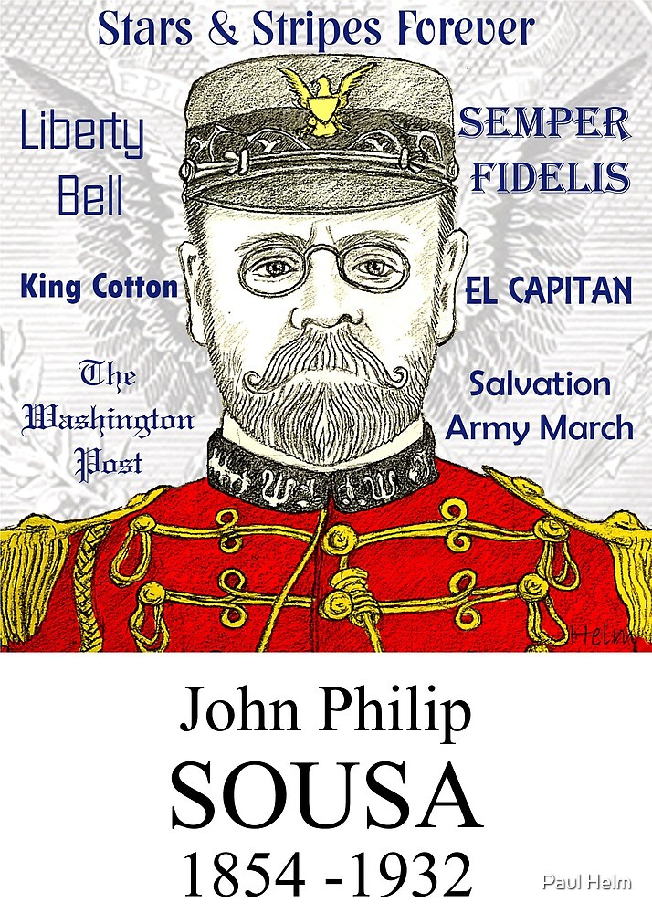 SOUSA - The March King by Paul Helm