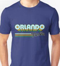 Orlando, FL   City Stripes Unisex T-Shirt
