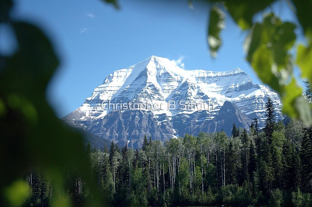 Mount Robson by Christopher B Smyth