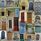 Doors in Bruges and Chinon (in Belgium  /France ) by cathyjacobs