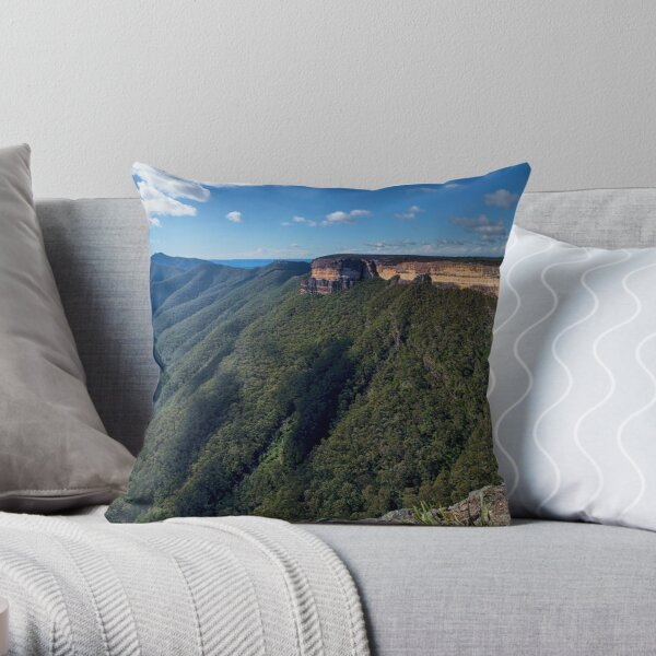 Kanangra Walls Throw Pillow
