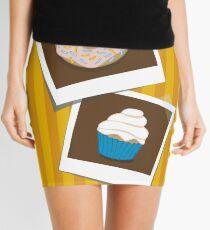 delicious polaroids Mini Skirt
