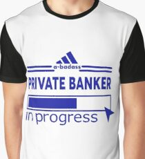 PRIVATE BANKER Graphic T-Shirt