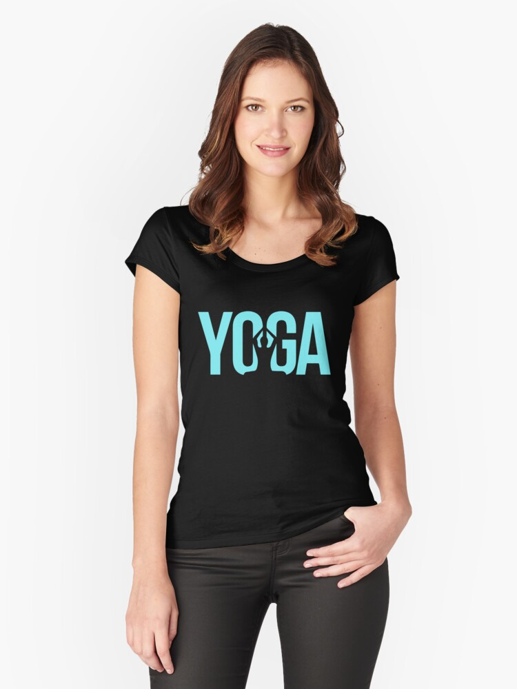 Yoga Women's Fitted Scoop T-Shirt Front
