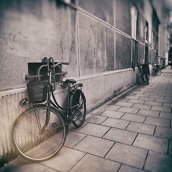street photo BICYCLES #street #streetphoto by JBJart
