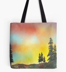 Mountain Morning in the High Sierra Tote Bag