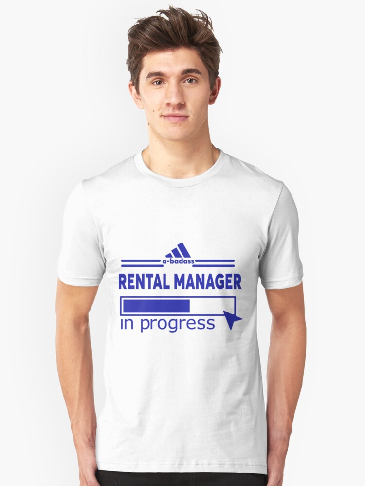 RENTAL MANAGER Unisex T-Shirt Front