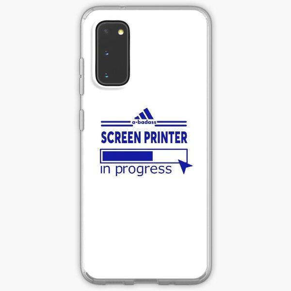 SCREEN PRINTER Samsung Galaxy Soft Case