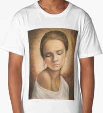 Drawing - Portrait of Eliza Long T-Shirt