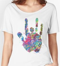 Grateful dead jerry on Women's Relaxed Fit T-Shirt