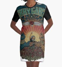 Grateful dead jerry play at roses field Graphic T-Shirt Dress