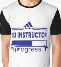 SKI INSTRUCTOR Graphic T-Shirt