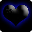 zs heart feeling blue by Zian  Silverwolf