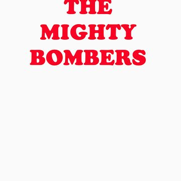 The Mighty Bombers by FootyTeeGuy
