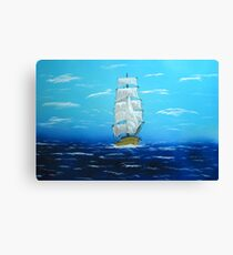 Sailing Outside the Golden Gate in California Canvas Print
