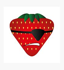 Strawberry Patch Arr Photographic Print