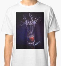 Splashing warter reflection Classic T-Shirt