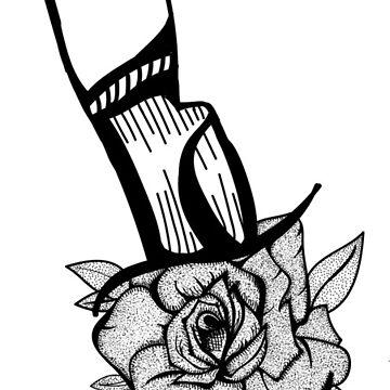 Rose Dagger by LMatthewsDesign