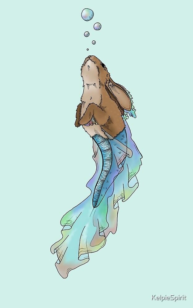 KelpieSpirit Bunn-maid Rainbow by KelpieSpirit