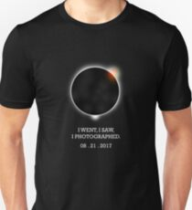 I went,I saw, I photographed solar eclipse Tee T-shirt T-Shirt