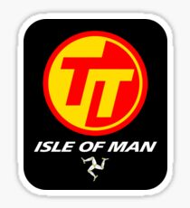 TT TOURIST TROPHY - ISLE OF MAN (V2) Sticker