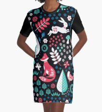 Electric Forest Graphic T-Shirt Dress