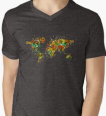 Map of the World watercolor T-Shirt