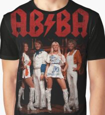 ABBA Rock Shirt - Let There Be Disco Graphic T-Shirt