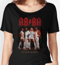 ABBA Rock Shirt - Let There Be Disco Women's Relaxed Fit T-Shirt