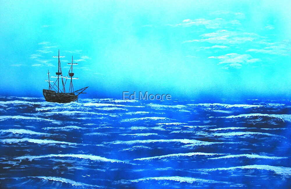 The First Anchorage by Ed Moore