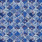Ogee - Blue by Vicky Webb