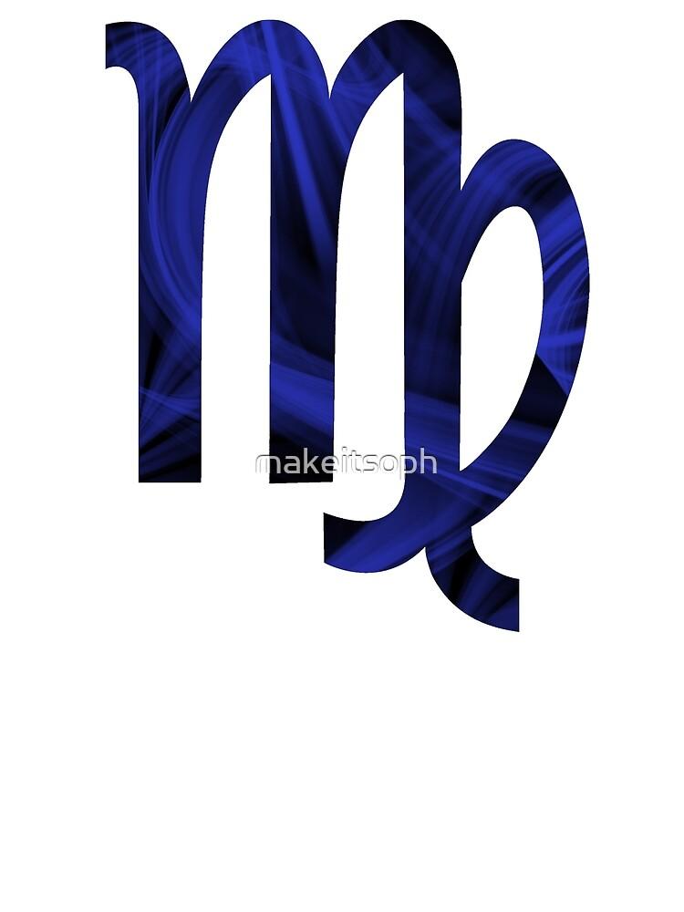 Virgo Star Sign Symbol Design by makeitsoph