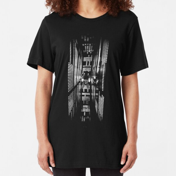 2001: A Space Odyssey (1968) Slim Fit T-Shirt