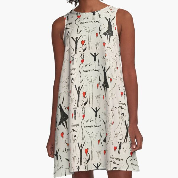Celebrate  A-Line Dress