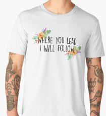 Gilmore Girls - Where you lead Men's Premium T-Shirt