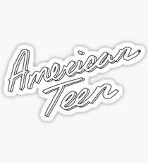 AMERICAN TEEN OUTLINE Sticker