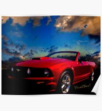 The Mustang Dream Poster