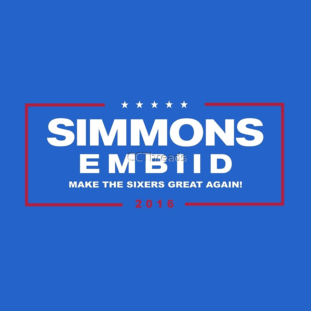 Make the Sixers Great Again Alt by CCThreads