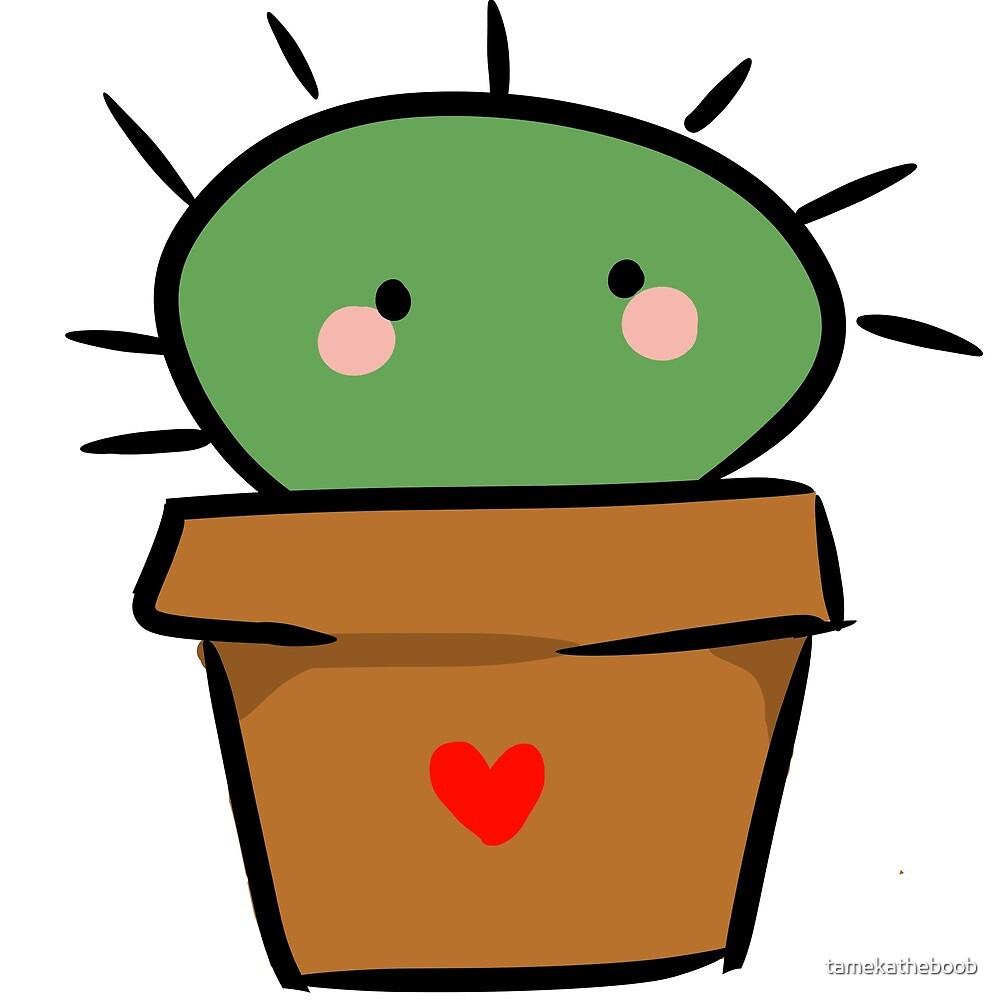 Cute Cactus Design by tamekatheboob