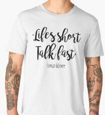 Gilmore Girls - Life's Short Men's Premium T-Shirt