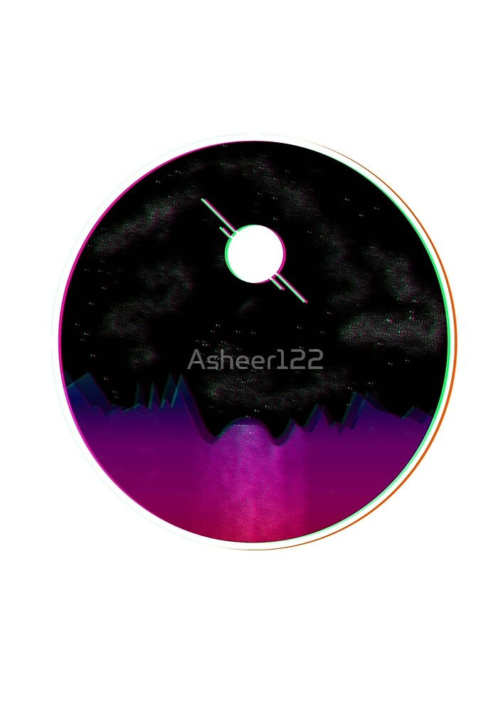 3D Retro Moon by Asheer122