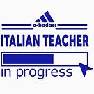ITALIAN TEACHER by Justin9bi