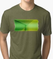 Mirror Green Tri-blend T-Shirt